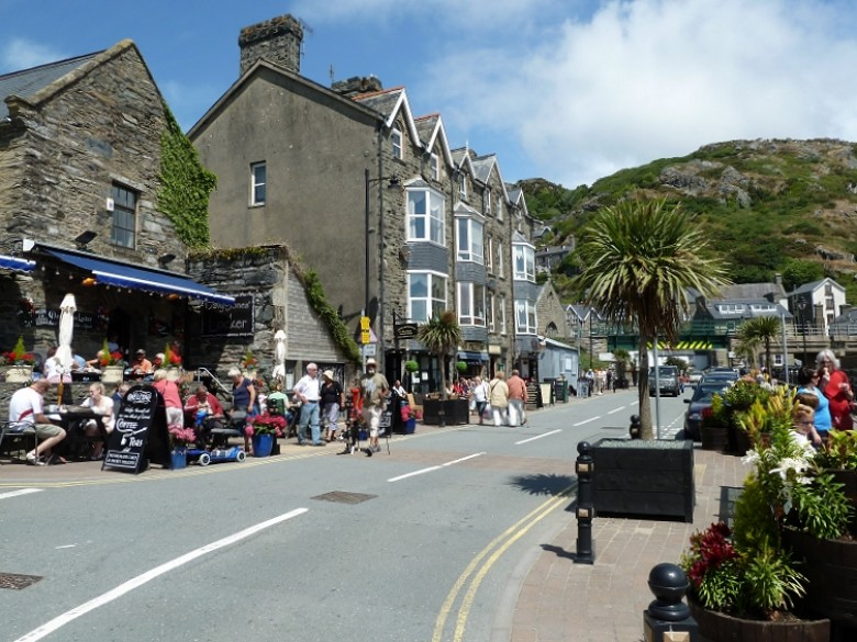 Picture Of Barmouth Harbour Restaurants