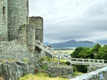 Picture of Harlech Castle and the Moelwyns