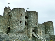 Picture of Harlech Castle Gatehouse