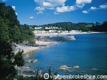 Picture of Saundersfoot Beach