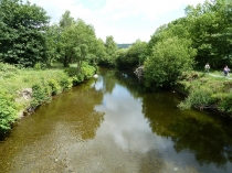 Picture of Afon Wnion River at Dolgellau
