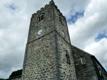 Picture of Clock Tower of Dolgellau Church