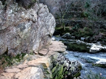 Picture of Aberglaslyn Footpath