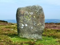 Picture of Maen Penddu Standing Stone
