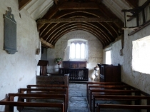 Picture of Nave and Chancel of Medieval Welsh Church