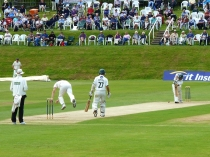 County Cricket at Rhos-on-Sea
