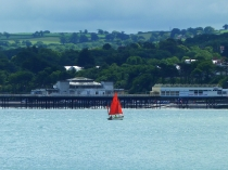 Picture of Red Sails and Colwyn Bay Pier