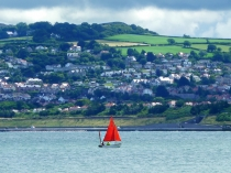 Picture of Red Sails and Old Colwyn