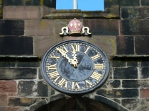 Picture of Bangor Cathedral Clock
