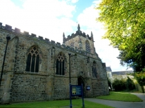 Picture of North Wall of  Bangor Cathedral
