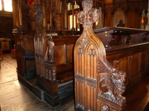 Picture of Carved Choir Stalls