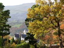 Picture of Bodnant Hall in the Conwy Valley