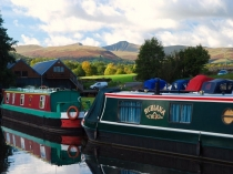 Picture of Ty Newydd Marina on the Monmouthshire and Brecon Canal