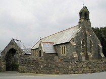 Picture of Llanuwchllyn Church