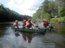 Picture of Canoeing on the River Wye