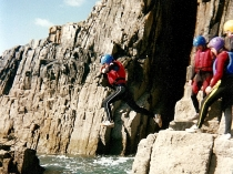 Picture of Coasteering on the Pembrokeshire Coast