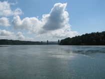 Picture of Menai Stait and Brittania Bridge