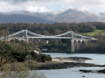 Picture of Menai Bridge and Menai Strait Walk