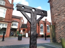 Picture of Nantwich Pillory or Nantwich Town Stocks