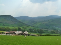 Picture of Welsh Farm in a Valley
