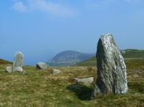 Picture of Standing Stone above Penmaenmawr