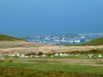 Picture of Penmaenmawr from the Uplands