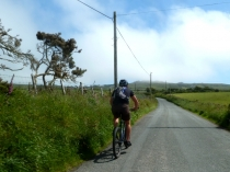 Picture of Cycling on the Country Lanes on Llyn