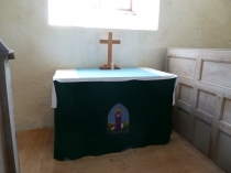 Picture of Communion Table in Welsh Chapel