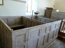 Picture of Georgian Box Pews