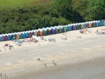 Picture of Beach Huts on Llanbedrog Beach