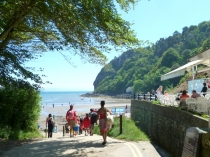 Picture of Llanbedrog Beach and Beach Cafe