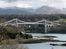 Picture of Menai Suspension Bridge