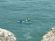 Picture of Kayaking off the Little Orme