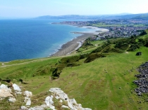 Picture of View of North Wales Coastline from Little Orme