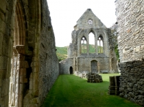 Picture of West Wall at Valle Crucis Abbey Llangollen