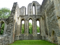 Picture of East Wall at Valle Crucis Abbey Llangollen