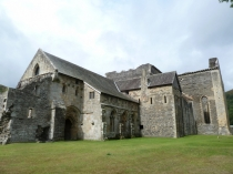 Picture of Abbots Quarters at Valle Crucis Abbey