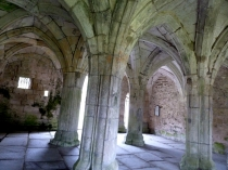 Picture of Vaulted Ceilings in Medieval Abbey