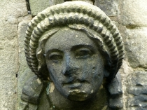 Picture of Carved Sandstone Headstop