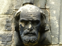 Picture of Carved Male Sandstone Headstop