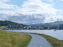Picture of Conwy from the All Wales Path