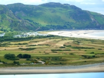 Picture of Aerial View of Conwy Golf Course