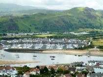Picture of Aerial View of Conwy Marina