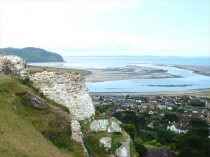 Picture of Stonework on Deganwy Castle