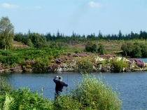 Picture of Fishing at Llyn Elsi
