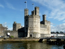 Picture of Eagle Tower of Caernarfon Castle