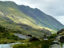 Picture of Llanberis Pass at Chromlech Boulders