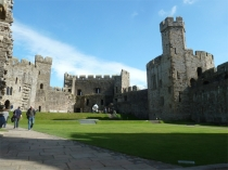 Picture of Ward of Caernarfon Castle