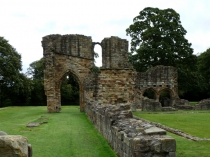Picture of Stone Arches at Basingwerk Abbey