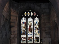 Picture of Stained Glass Window in St James Church